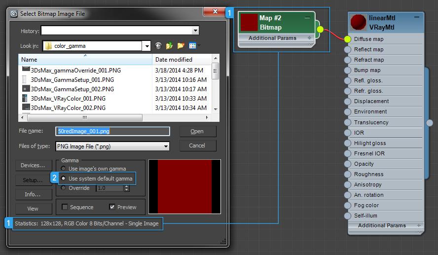 Precise color bitmap