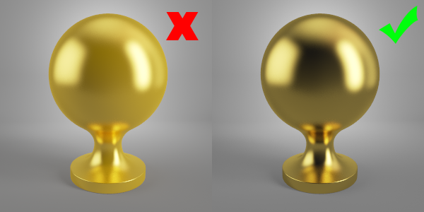 Gold Vray Materials