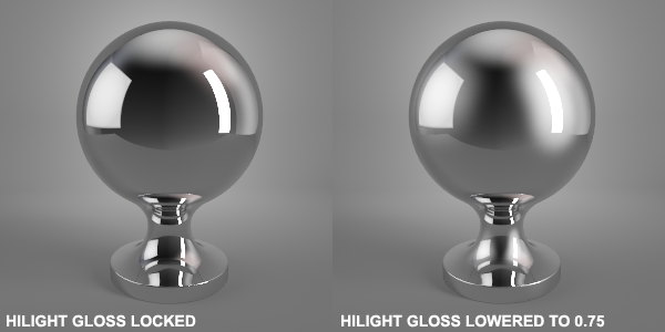 Hilight Gloss Vray