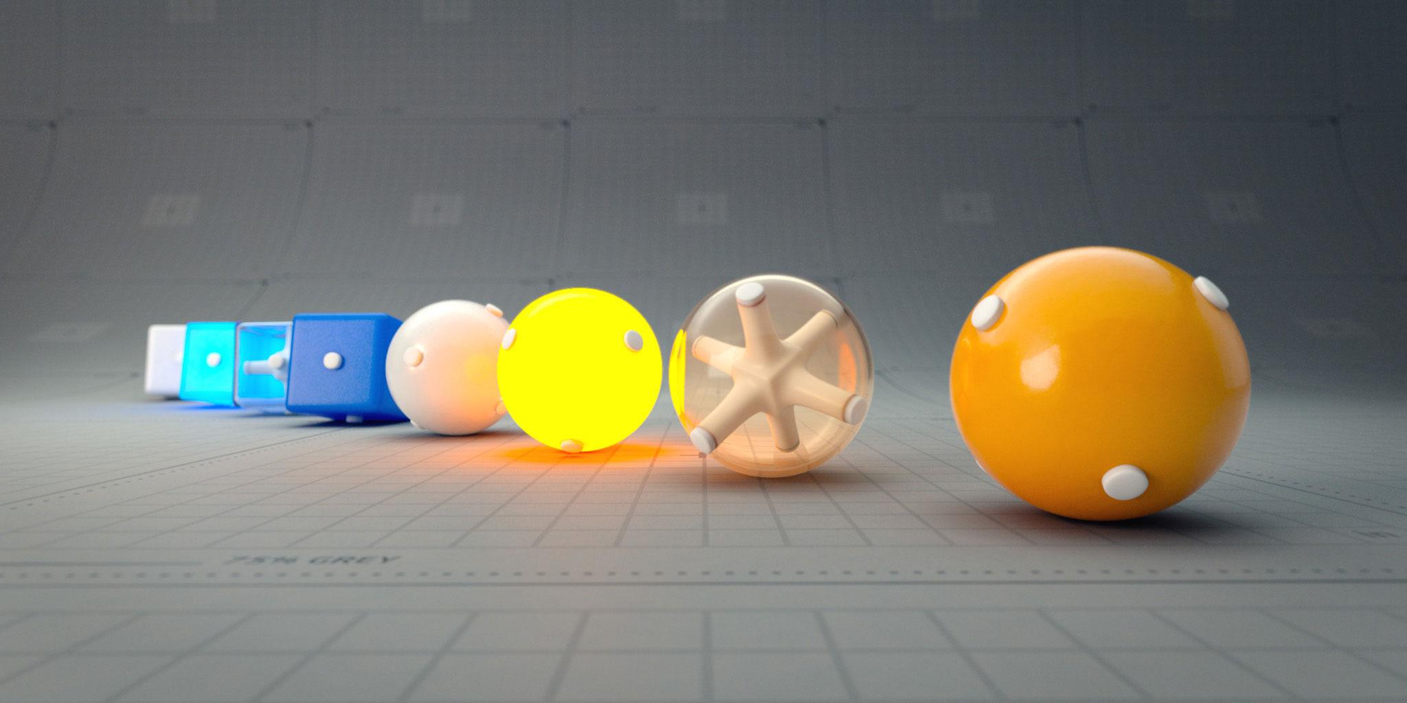 Choose lens for 3D render