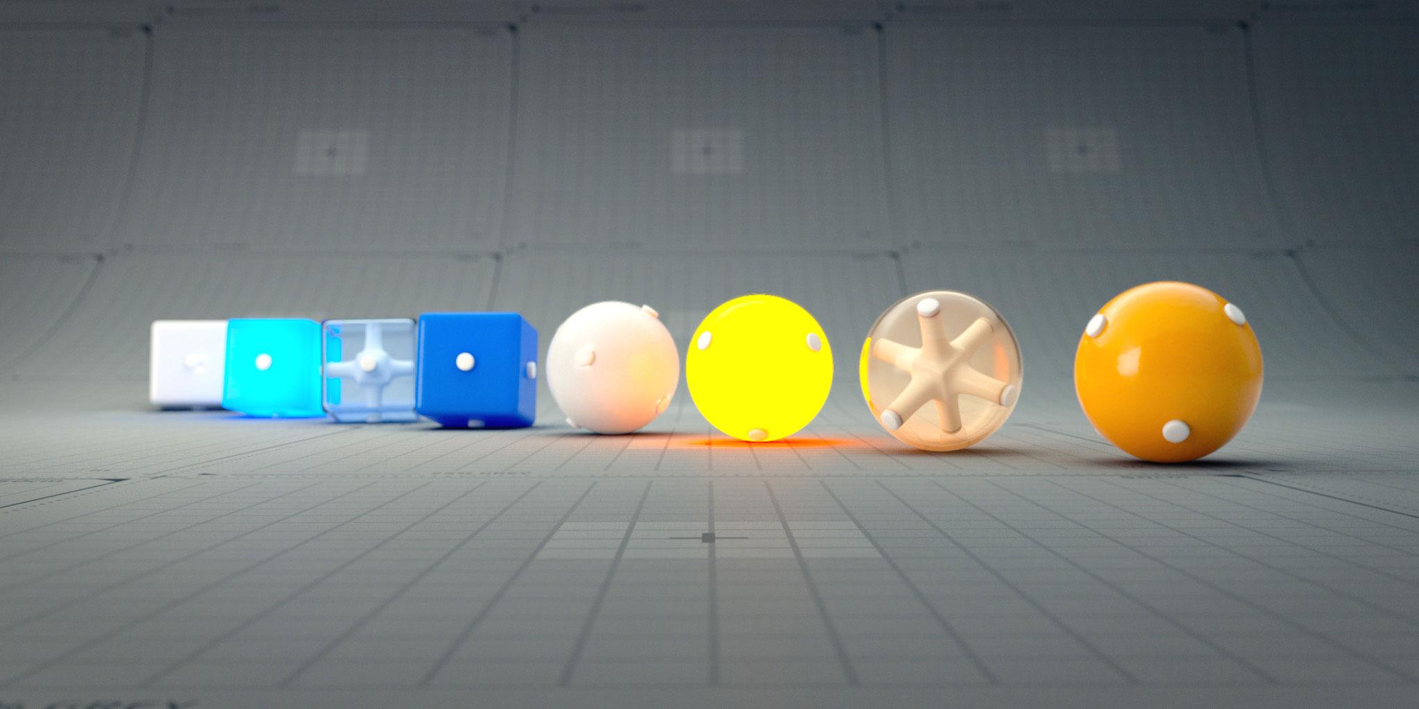 Lenses for 3D render