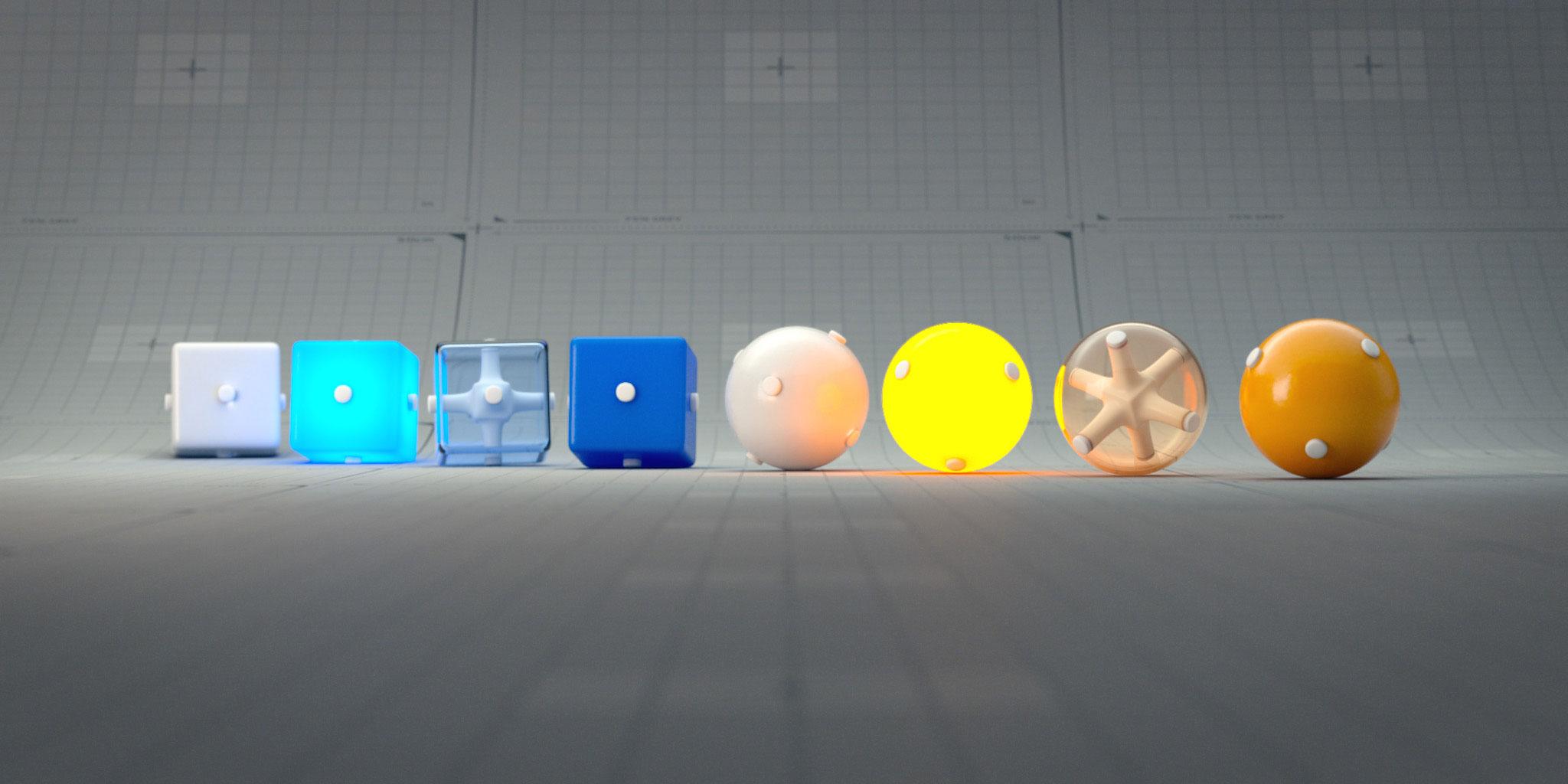 Choosing lenses for 3D renders