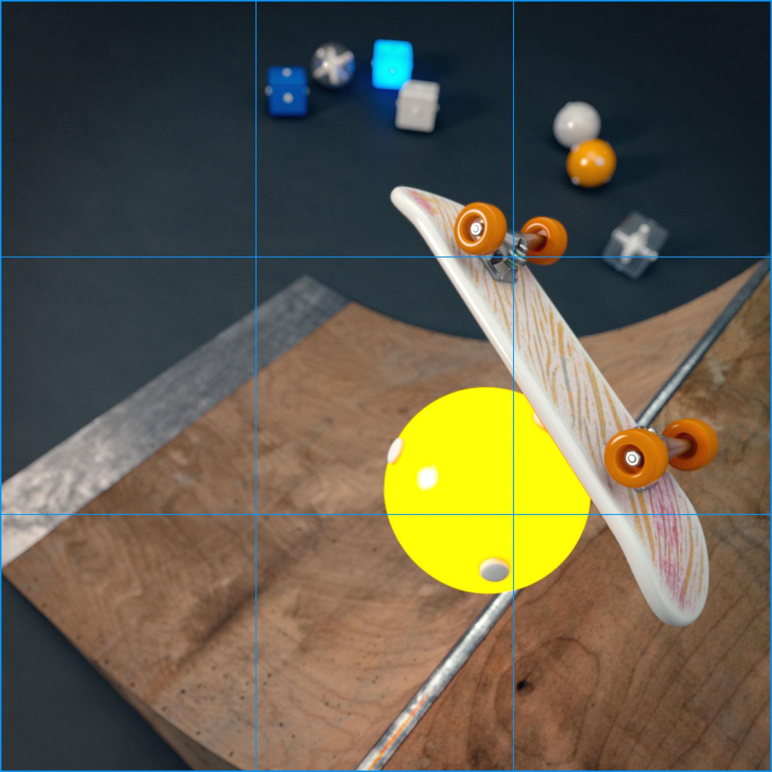 Display guides PixelSquid studio tool