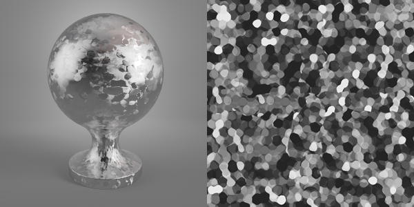 Metallic Flakes Vray Material