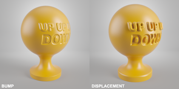Vray Displacement Bump