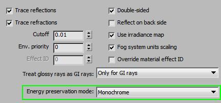 EMP Monochrome Vray