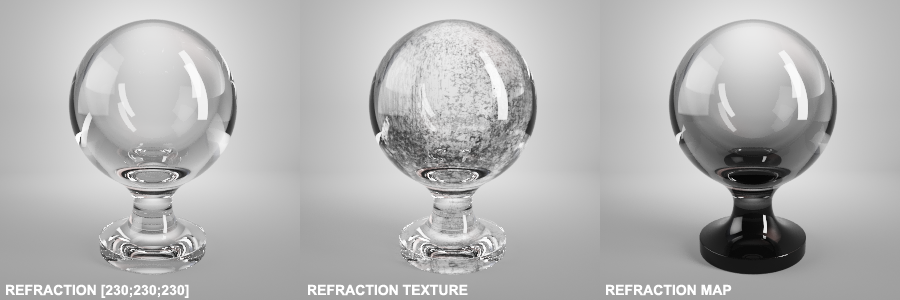 Refractions Vray Materials