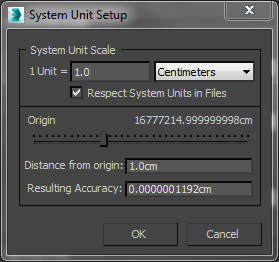 how to set up units in 3ds Max