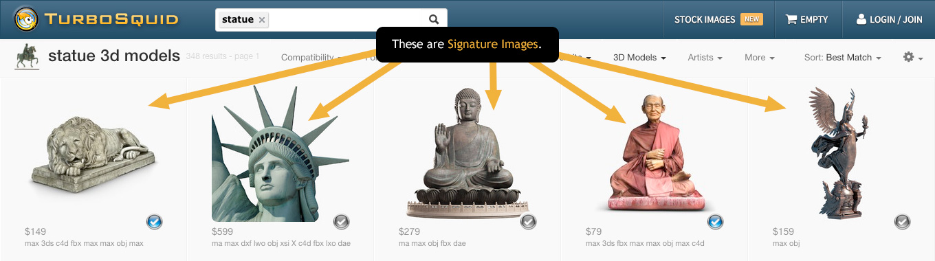 what is a signature image