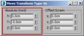 Transform Type-In