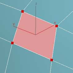 example of A Quadrilateral Polygon (4 Sides)