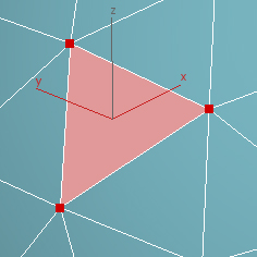 example of Triangular Poly (3 sides)
