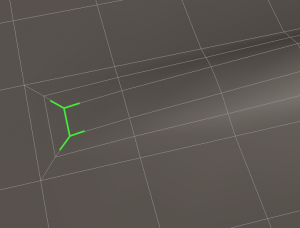 example of acceptable T-vertices