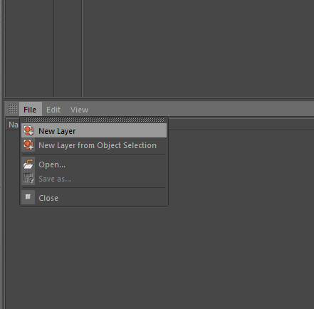 how to create new Layers in Cinema 4D