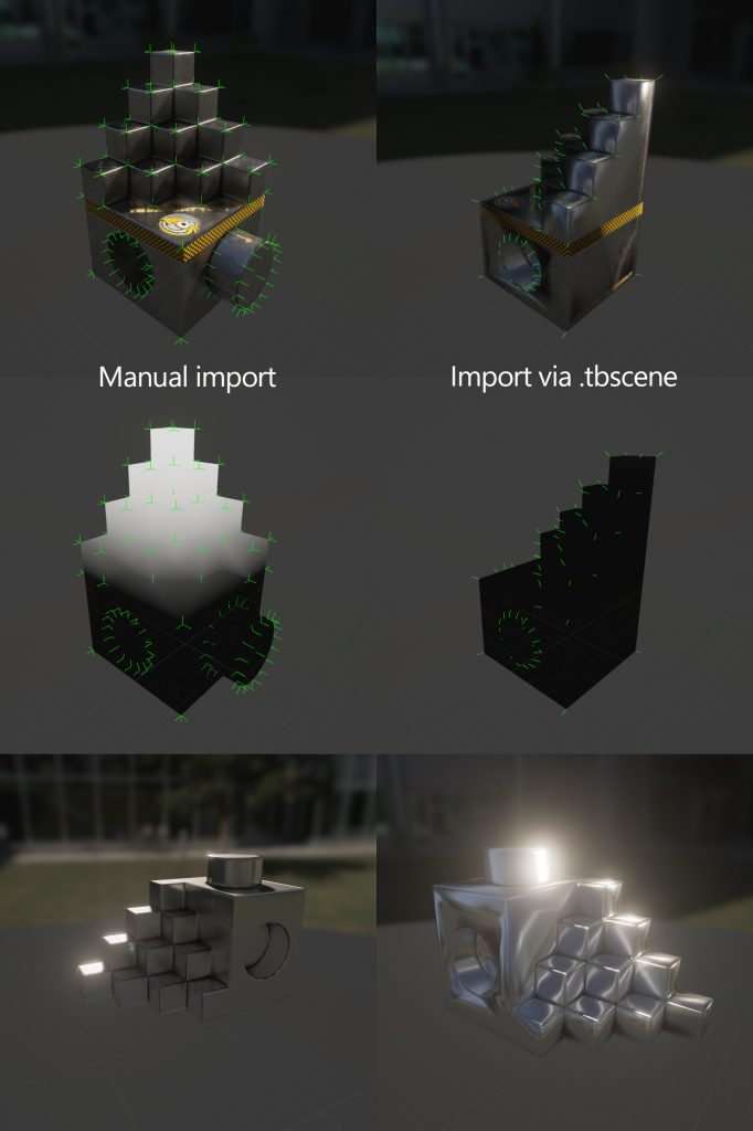 Marmoset Toolbag 3 Export for UE4