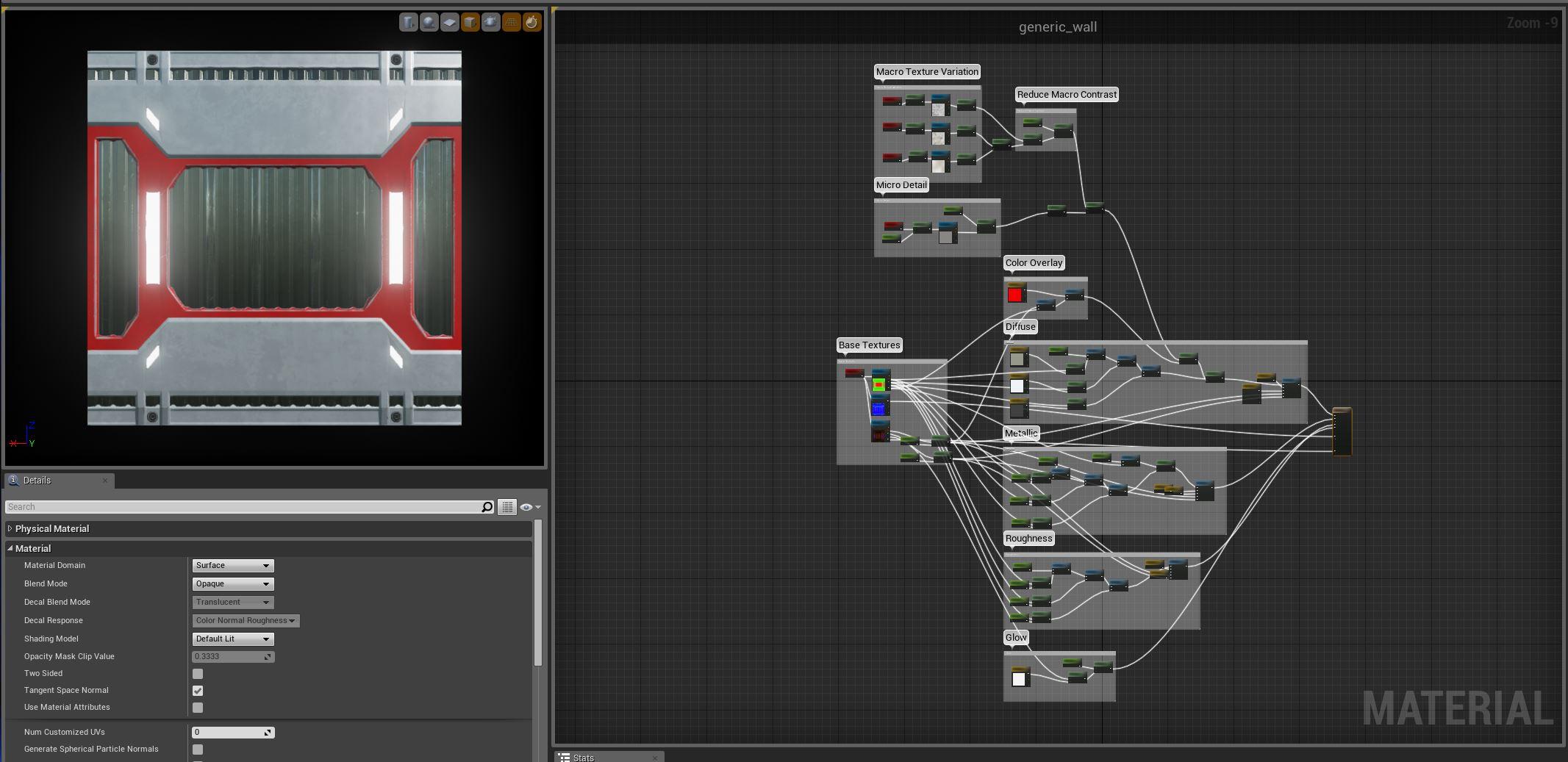 Semi-procedural material in Unity