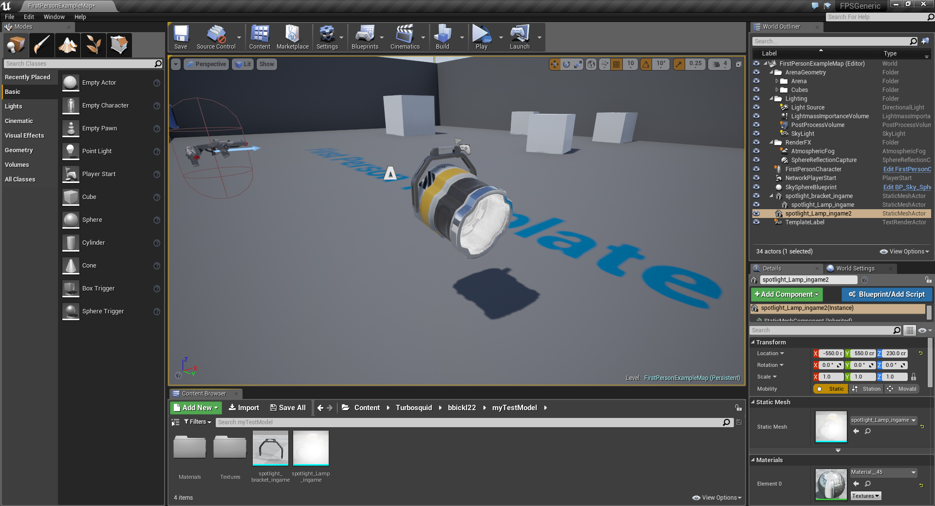Introduction to Unreal for 3D Artists