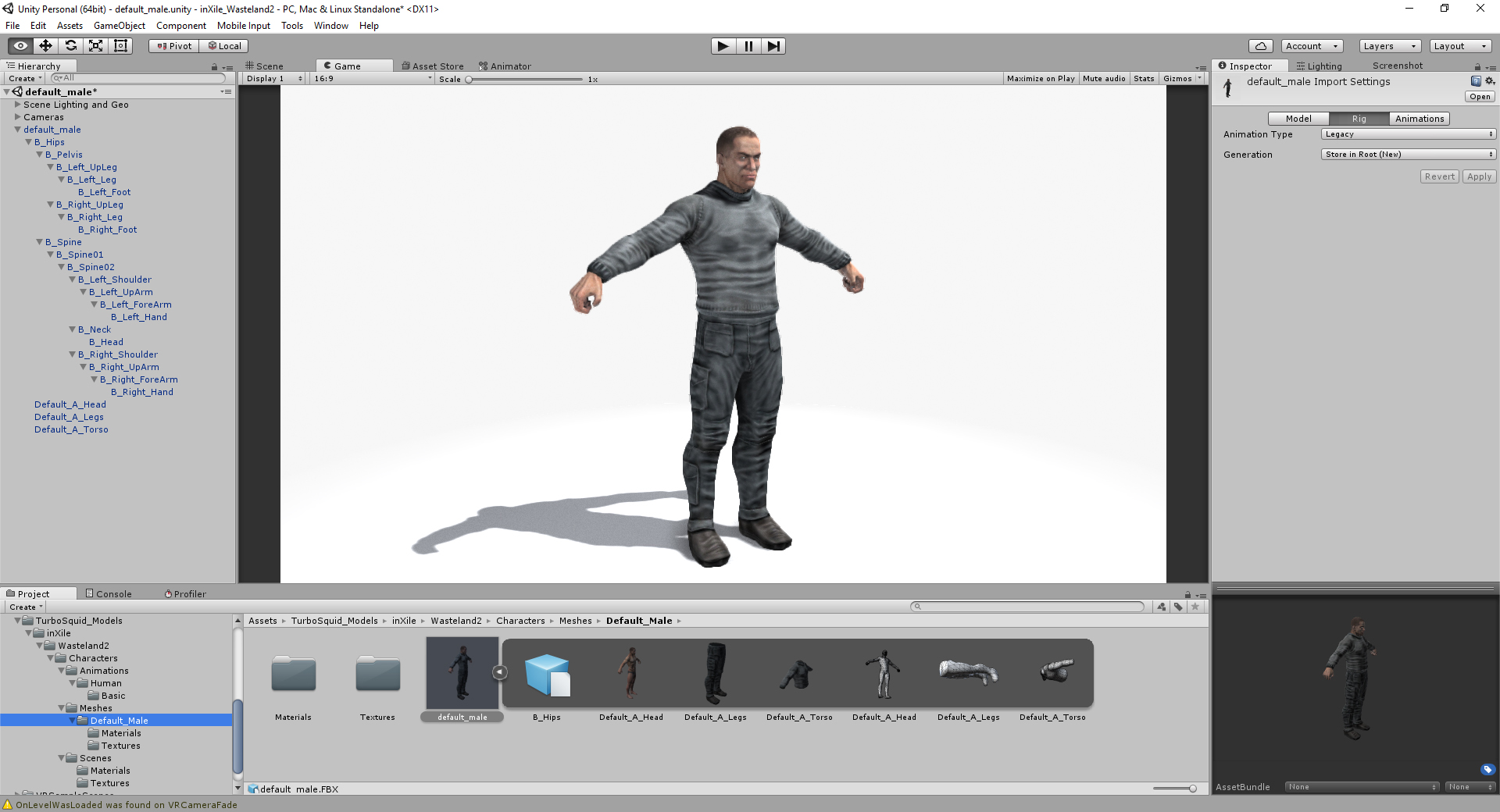 Create Unity Editor Preview